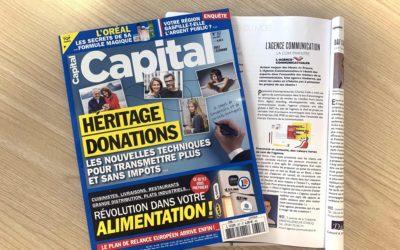 On parle de notre agence dans Capital Magazine !